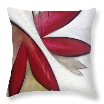 The Redeemed Heart Throw Pillow