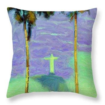 The Redeemer Throw Pillow
