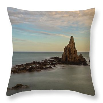 The Reef Of The Cape Sirens At Sunset Throw Pillow