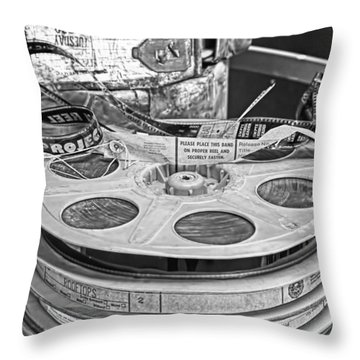 The Reel Thing  Throw Pillow