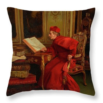 The Reference Throw Pillow