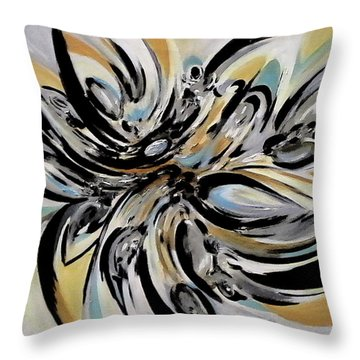 The Reflecting Expression Throw Pillow