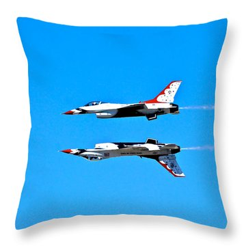 The Reflection Pass Throw Pillow