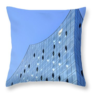 The Reflections Of Sunny Bunnies Throw Pillow
