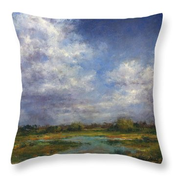 The Refuge In July Throw Pillow