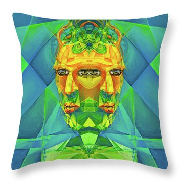 The Reinvention Reinvented 2 Throw Pillow