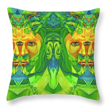 The Reinvention Reinvented 3 Throw Pillow