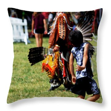 The Relay Throw Pillow