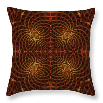 The Relevance Of Spinning Throw Pillow
