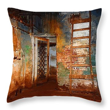The Renovation Throw Pillow