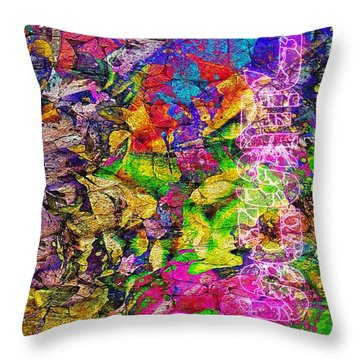 The Repairer Of The Breach Throw Pillow