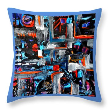 The Reprieve Throw Pillow by Expressionistart studio Priscilla Batzell
