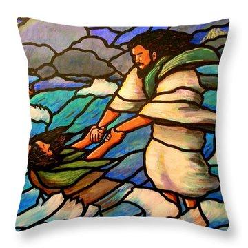 The Rescue Throw Pillow