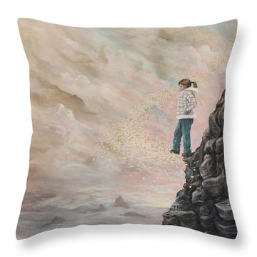 The Resolute Soul Throw Pillow