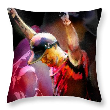 The Return Of The Tiger 04 - The Eagle Throw Pillow