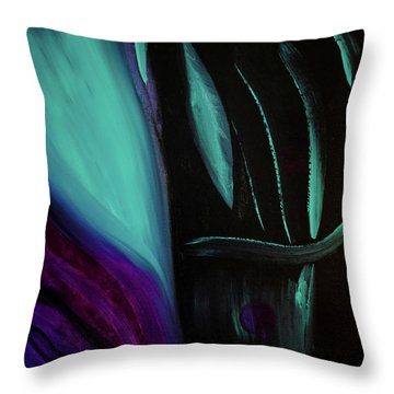 The Reveal Throw Pillow by Dick Bourgault