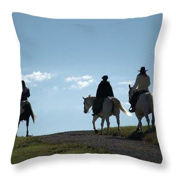 The Ride Throw Pillow