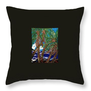 The Ride To Opihikao Throw Pillow