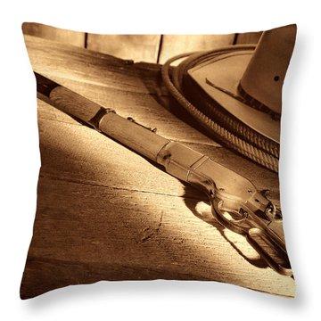 The Rifle Throw Pillow