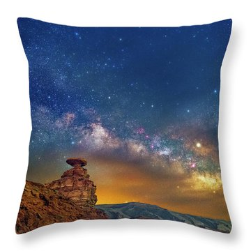 The Rift Throw Pillow
