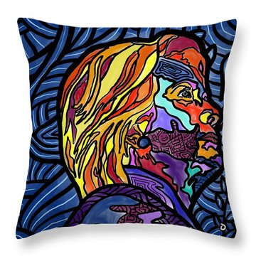 The Right Side Of Herstory Throw Pillow