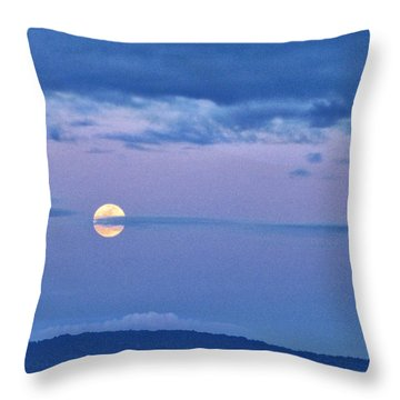 The Rising Throw Pillow by Sabine Stetson
