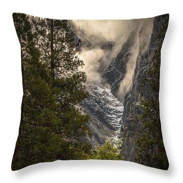 The Rising Throw Pillow