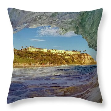 Throw Pillow featuring the photograph The Ritz Fitz by Sean Foster