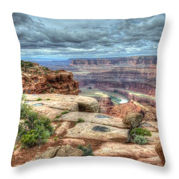 The River Within Throw Pillow