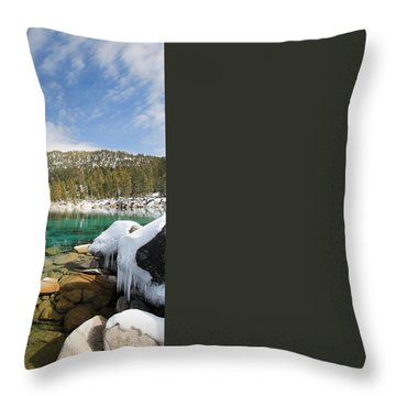Throw Pillow featuring the photograph The Road Less Traveled by Sean Sarsfield