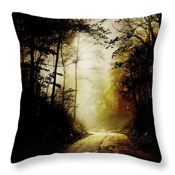 The Road To Hell Take 2 Throw Pillow