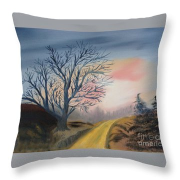 The Road To... Throw Pillow