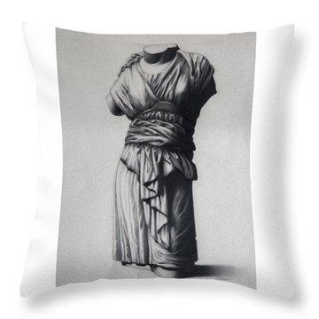 The Robe Throw Pillow