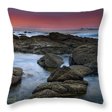 The Rock Labyrinth Throw Pillow
