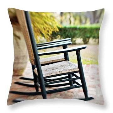 The Rocker Throw Pillow