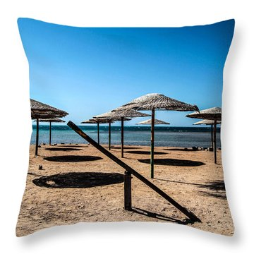 The Rocking Has Stopped Here Throw Pillow