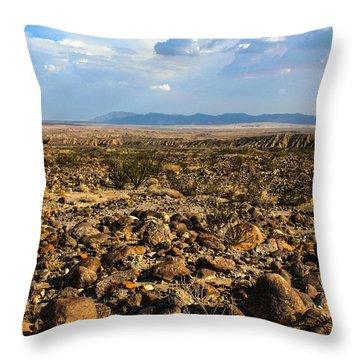 The Rocks Throw Pillow