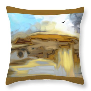 The Rocks Throw Pillow