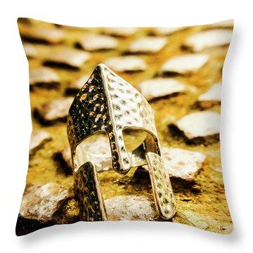 The Roman Pavement Throw Pillow