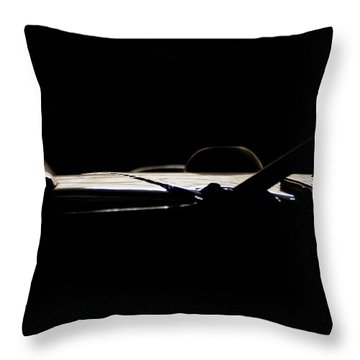 The Roof Throw Pillow by Paul Job