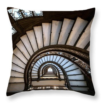 The Rookery - Chicago Throw Pillow