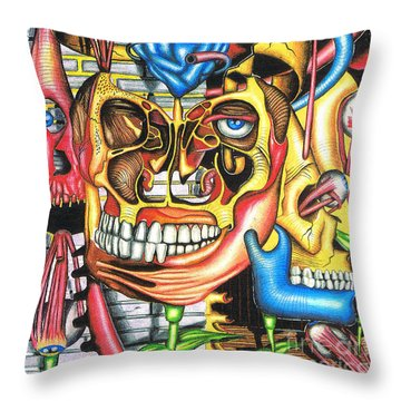 The Roots Of Human Evolution Throw Pillow