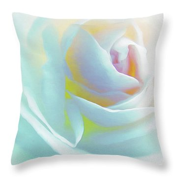 The Rose By Scott Cameron Throw Pillow