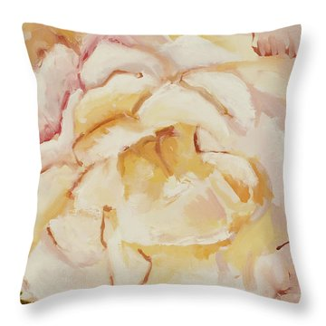 The Rose Throw Pillow by Katie OBrien - Printscapes