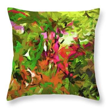 The Rosebud Throw Pillow