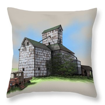 The Ross Elevator Version 5 Throw Pillow