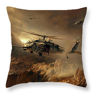 The Rotary Club Throw Pillow