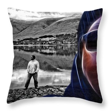 The Rough And The Rugged Throw Pillow