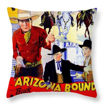The Rough Riders Throw Pillow