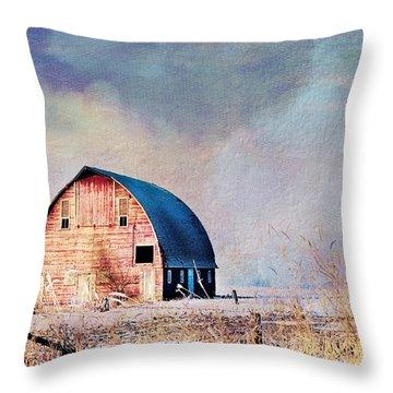 The Royal Barn Throw Pillow